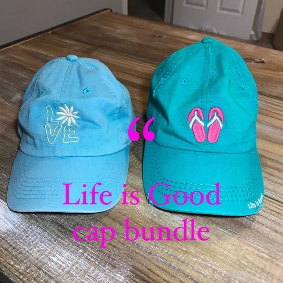 Life is Goid cap bundle